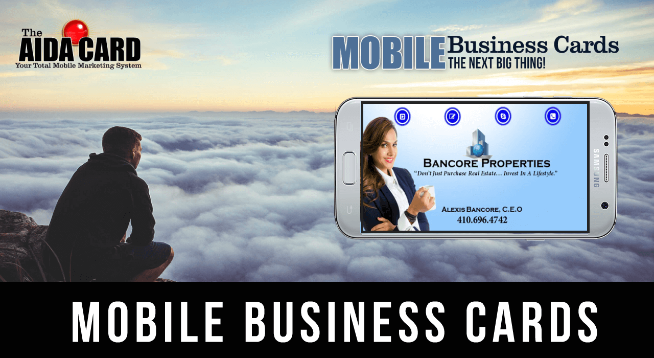 Mobile Business Cards The Next Big Thing