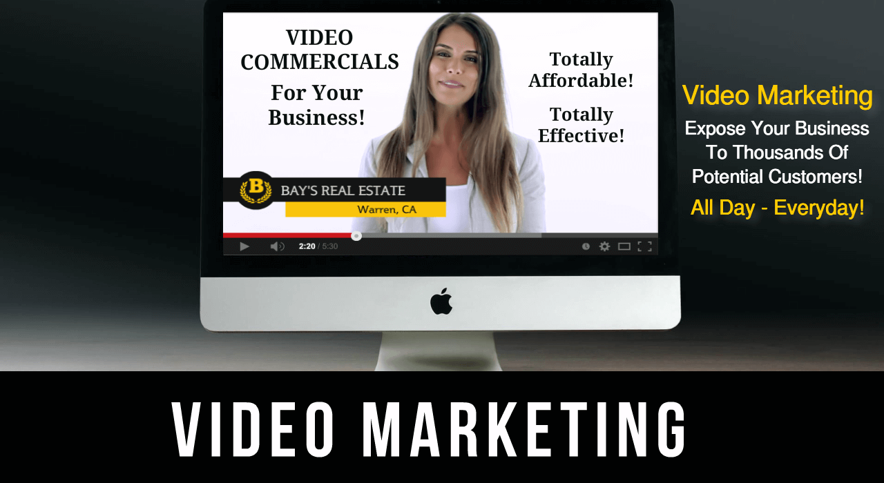 Video Marketing -Expose Your Business To Thousands of Potential Customers!